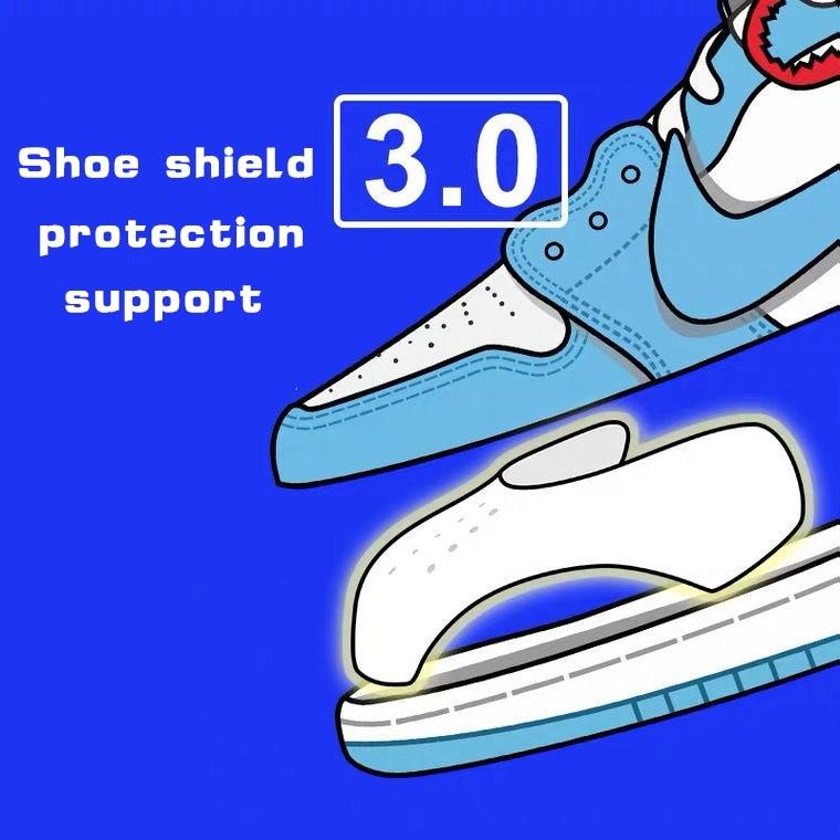 Защитные шариковые насадки для обуви, Прямая поставка, сникерсы, защита от складок, поддержка носка обуви, спортивная защита от складок