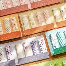 240 pçs/lote cor marcador de notas pegajosas etiqueta marcador guia memorando bandeira etiquetas fita tipo nota pegajosa etiqueta mão conta decoração