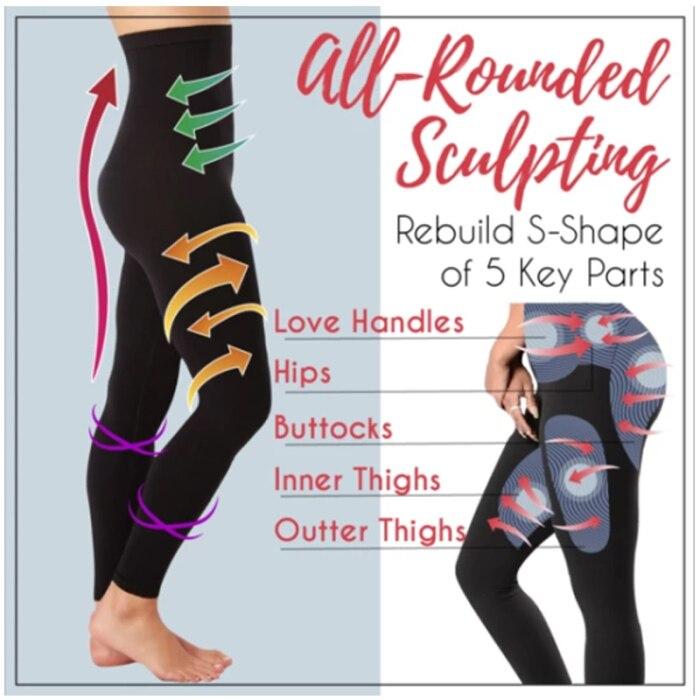 Slimming Leg Socks Women Sleeping Beauty Legs Shaper