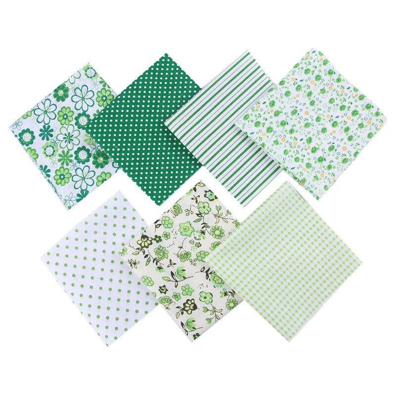 Купить 7 шт/упак 25*25 см diy швейные ткань ситцевой ткани для лоскутного