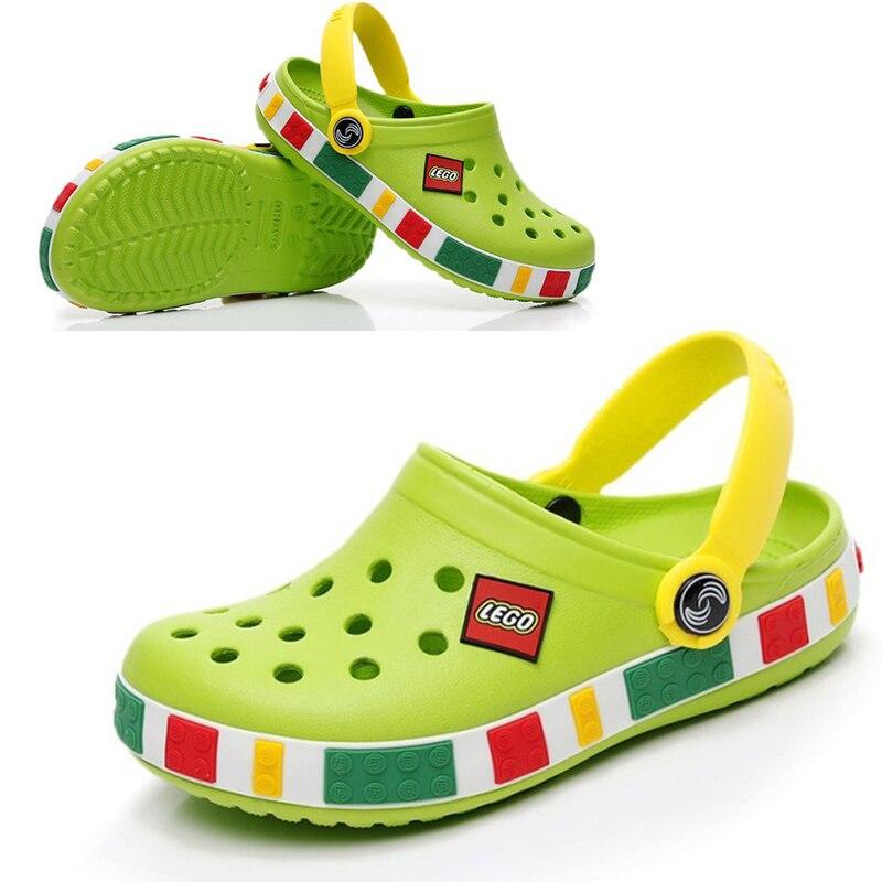 moda meninos meninas sandalias sapatos de praia 01