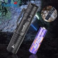 Trustfire-Mini Linterna táctica LED L2 EDC, 1000LM, 14500 AA, resistente al agua, IPX8, lámpara brillante, potente para acampar