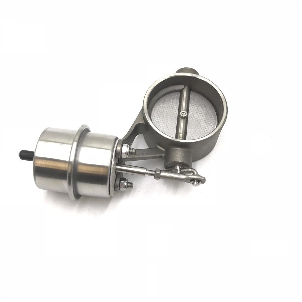 Автомобильный Выпускной контрольный клапан с вакуумным приводом, вырезанная труба, закрытый стиль с беспроводным пультом дистанционного управления - Цвет: 51MM Valve Body