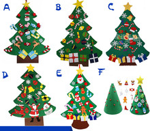 95CM Artificial Decorated Christmas Tree New Year  Xmas Home Festival Decorations Non-woven Fabric Tree цена 2017