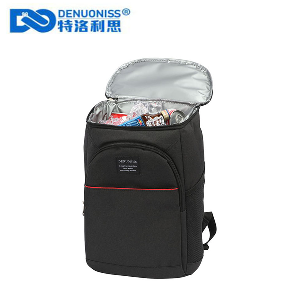 DENUONISS Waterproof  Insulated Lunch Bag Necessary Picnic Pouch Unisex Thermal Dinner Food Accessories Tote Thermal Bag