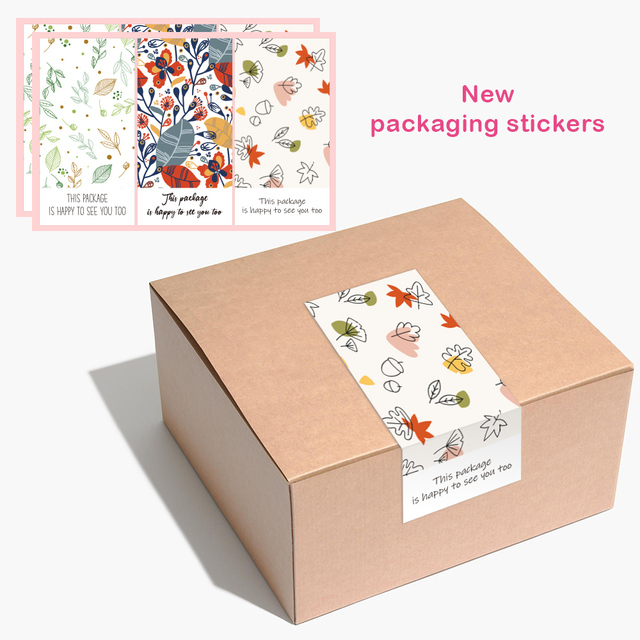 30 Pcs This Package Is Happy To See You Too Stickers Seal Labels Thank You Stickers For Small Business Handmade Commodity Decor