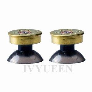 Image 3 - Ivyueen 真鍮弾丸ボタン mod キットデュアルショック 4 PS4 と DS4 プロスリムコントローラアナログ親指スティックキャップアクションボタン