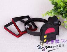Anime vocaloid miku headset peruca cosplay prop kagamine rin/ren vocaloid cos hairpin traje fone de ouvido