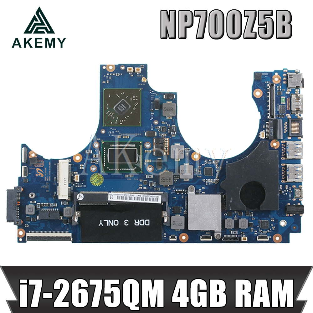 Laptop Motherboard For SAMSUNG NP700Z5A NP700Z5B I7-2675QM HD 7470M Mainboard Ba92-09017B 216-0810005 HM65