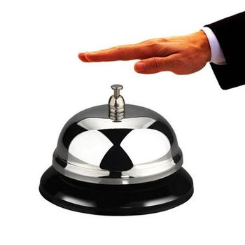 Wysokiej jakości stal nierdzewna klasyczny srebrny serwis Concierge hotelowy stół zadzwoń stalowy dzwonek restauracja Bar serwis dzwon akcesoria barowe tanie i dobre opinie CN (pochodzenie) Metal Ekologiczne Zaopatrzony Restaurant bar service Bell Other Ce ue 5-10 cm