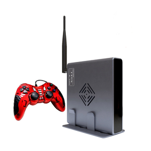 Image 1 - 4K HDMI טלוויזיה משחקי מארח 3D וידאו משחק קונסולת לבנות 2323 משלוח משחק WIFI תמיכה כל משחקים אמולטור משחק קונסולת שני בקר