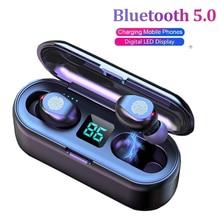 Drahtlose Kopfhörer Bluetooth 5,0 Kopfhörer TWS Sport Casque Stereo Sound headset Mit Lade Box Mikrofon Für iphone Xiaomi