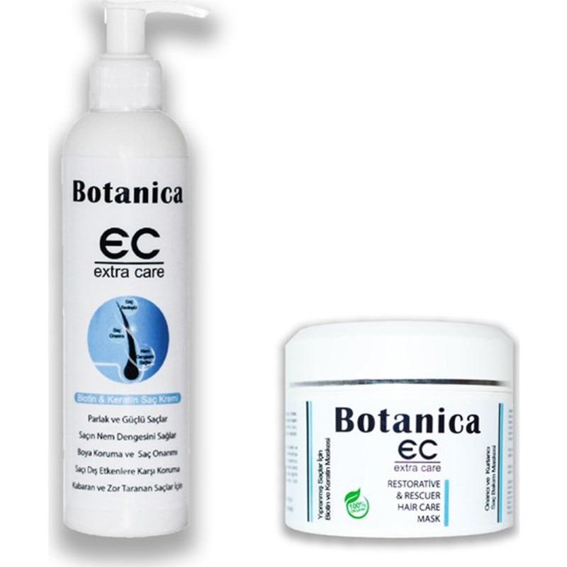 botanica surging para cabelo duro digitalizado fofo ondulado cabelo biotina e queratina solucao conjunto