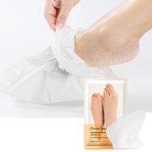 1 pack = 2 pcs Snail Extract Eeeling Exfoliating Mask feet foot heel dead skin cuticles removing pedicure socks spa Daralis