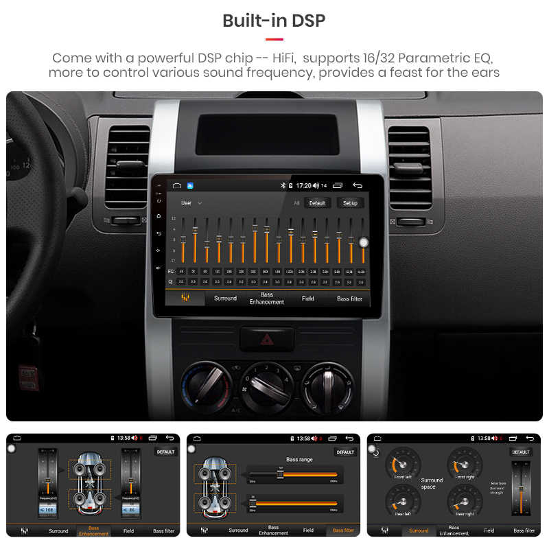 Junsun V1 Pro 4G + 64G Android 9,0 для Nissan X-Trail T31 T32 2007-2015 автомобильный Радио Мультимедиа Видео плеер навигация RDS 2 din dvd