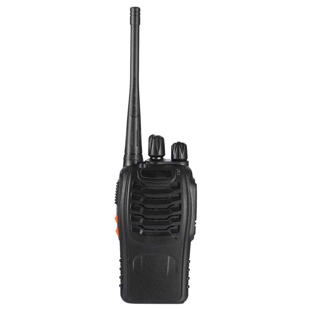 FM Transceiver 400-470MHz Rechargeable Walkie-talkie Flashlight 5W 16Ch With Headset 2-way Radio FOR Baofeng BF-888S