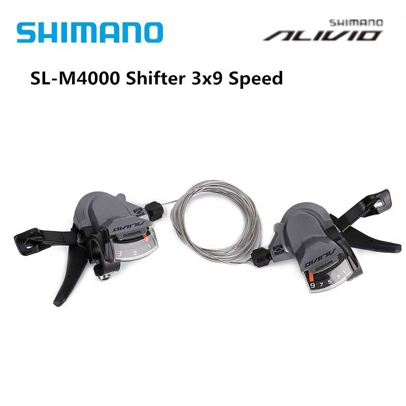 Shimano Alivio M4000 Shift lever 3 Speed Right Rear Shifter SL-M4000 ESLM4000LB