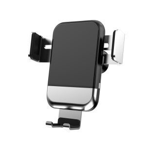 Image 5 - AQO Car Phone Holder Wireless Charger Automatic Inductive Phone Car Holder For iphone xiaomi huawei Samsung Mobile Stand EDZ 03