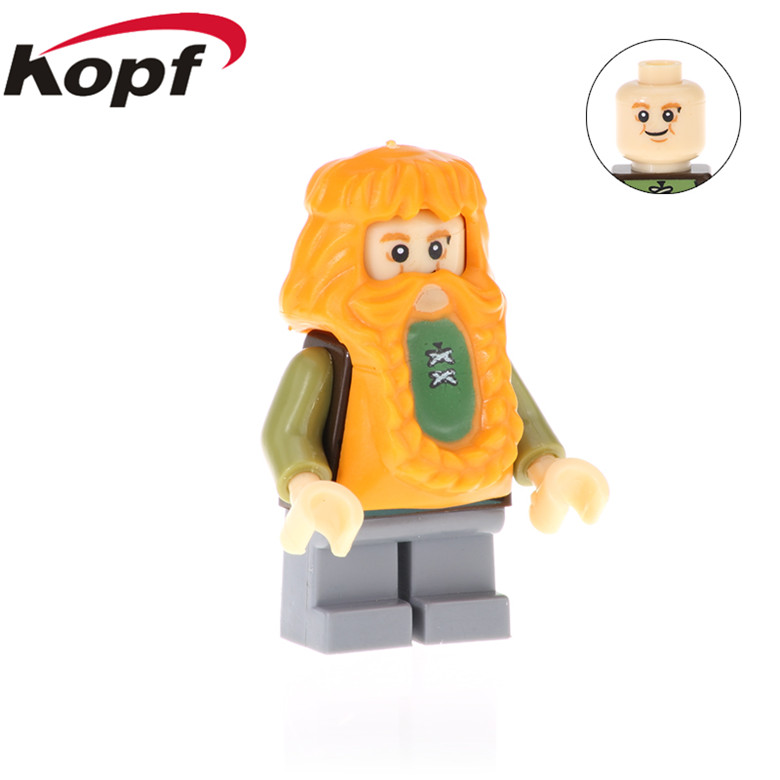 20Pcs PG533 Building Blocks  Figures Bombur Bllbo Uruk-hal Orcs Model Action Bricks Collection For Children Gift Toys