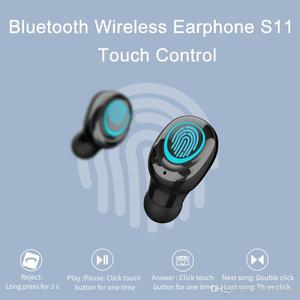 Image 4 - AERBOS Tws Bluetooth 5.0 Wireless Earphones S11 Touch Control In Ear Headphones with Microphone 3500 mAh Power Bank Mini Earbuds