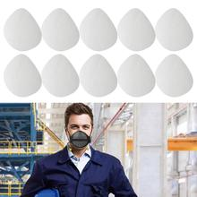 10Pcs Dust Proof Air Purification Replacement Inner Pads Filter for Face Mask Adjustable Mouth and Nose Separation Mask Pad