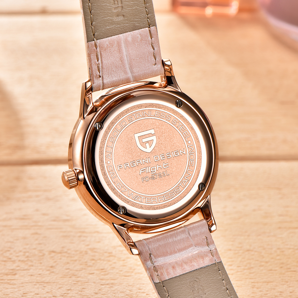 2020 free drop shipping PAGANI DESIGN Brand Lady Fashion Quartz Watch Women Waterproof 30M shell dial Luxury Dress Watches Relogio Feminino xfcs (47)