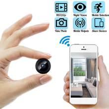 720p hd ip mini câmera sem fio wifi visão noturna escondida câmera de detecção móvel segurança vigilância controle remoto atacado