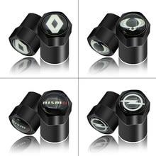 4 pçs logotipo do carro preto pneu válvula núcleo capa para bmws m m6 m5 m4 gts m3 x5m x6m desempenho potência e90 e60 e46 f10 e39 f30 f20