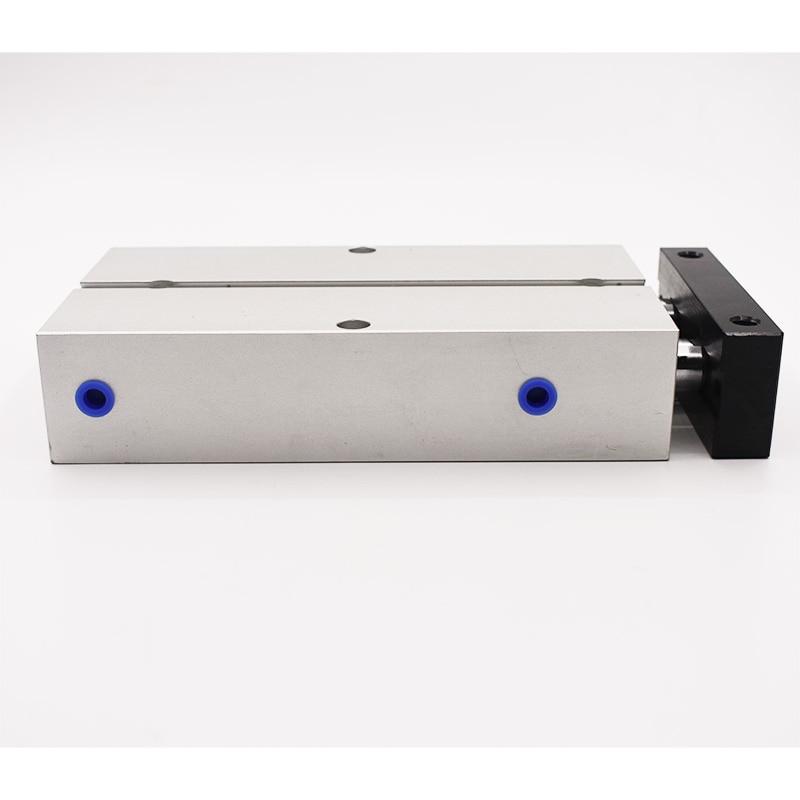 Купить с кэшбэком Aluminum Alloy TN Type Pneumatic Cylinder 10mm Bore 10/15/20/25/30/35/40/45/50/60/70/75/80/90/100/125/150mm Stroke Air Cylinder