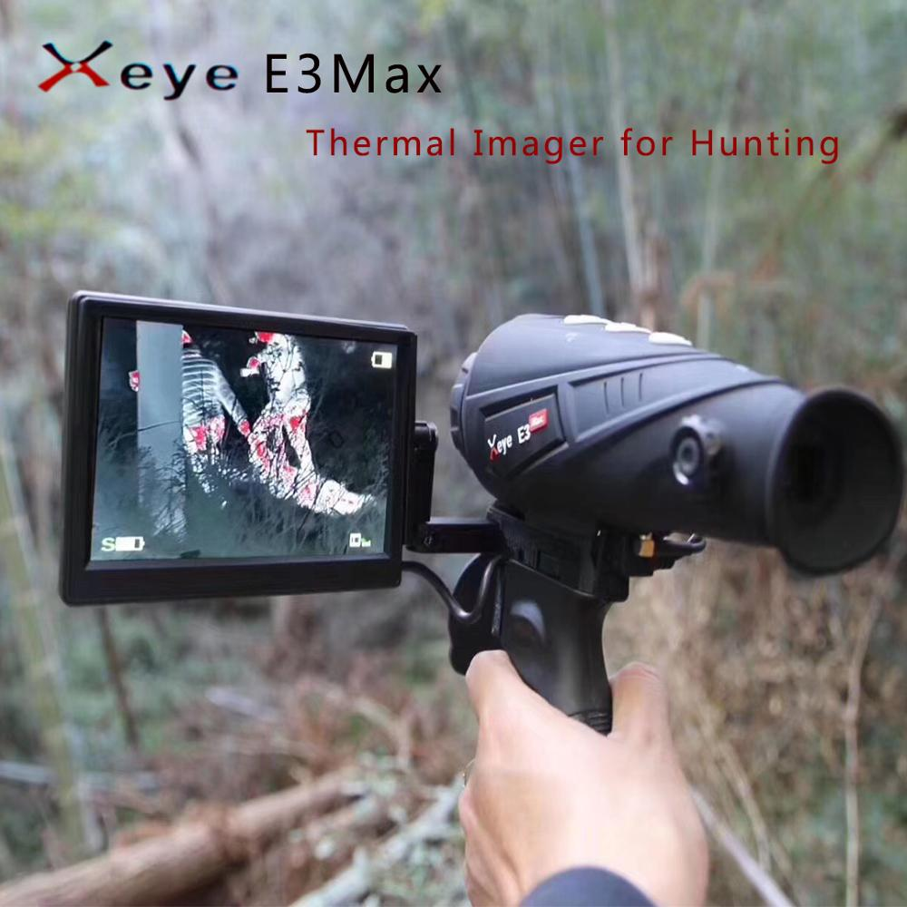 Iray E3Max Thermal Vision Patrol Infrared Night Vision Thermal Imager Riflescope Night Vision Hunting Optics Rifle Scope Sights