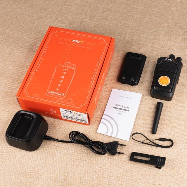 KSUN Powerful Walkie Talkie Automatically Match Frequency CB Radio Station UHF Transceiver Long Range Walkie Talkie 6