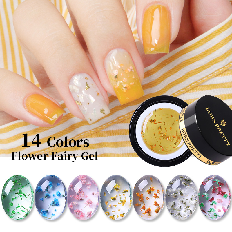 Born Pretty 5ml Soak Off Nail Gel Polish Flower Fairy Gel Varnish Gradient Effect Long Lasting Di Nail Art Nail Gel Aliexpress