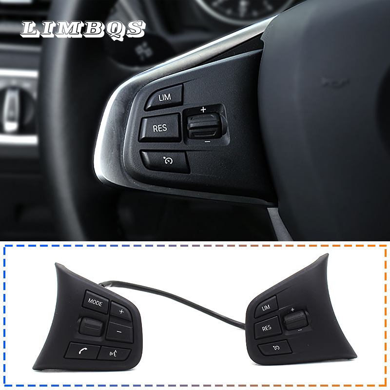 Audio Cruise Steering Wheel Control Switch for BMW 5 6 7 F10 F11 F12 F06 F01 F02