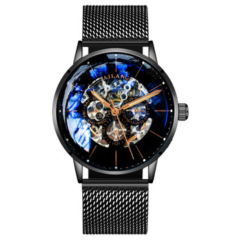 Ailang Watch Man Machinery Watch Automatic Wormhole New Concept Hollow Out Men's Waterproof Fashion New Brand