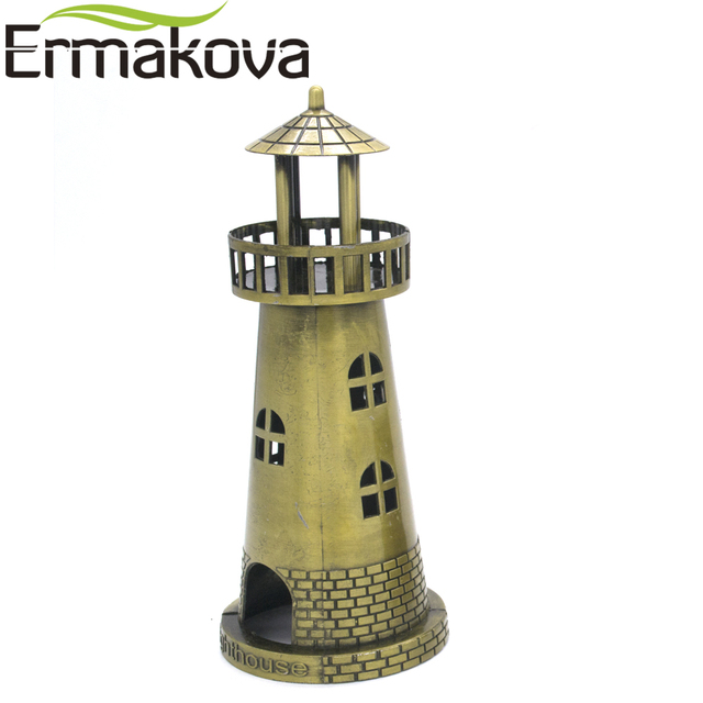 ERMAKOVA Metal Architecture Figurine World Famous Landmark Building Souvenir Statue Home Office Desktop Decor Christmas Gift 3