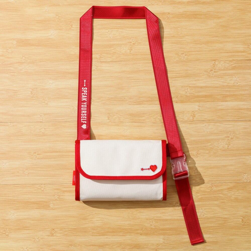 Bangtan Boys World Tour FC Limited Bag Japan Edition Speak Yourself Shoulder Bag White Canvas Makeup Coin Purse Periphery
