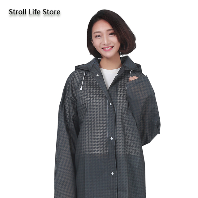 Long Transparent Raincoat Women Adult Hiking Men Outdoor Clear Rain Coat Waterproof Suit Long Rain Poncho Jacket Travel Gift