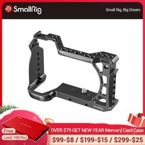 """Image 1 - Клетка для видеосъемки SmallRig A6600 для камеры Sony A6600, клетка с креплением для холодного башмака/ARRI 3/8 """" 16, аксессуары с резьбой 2493"""