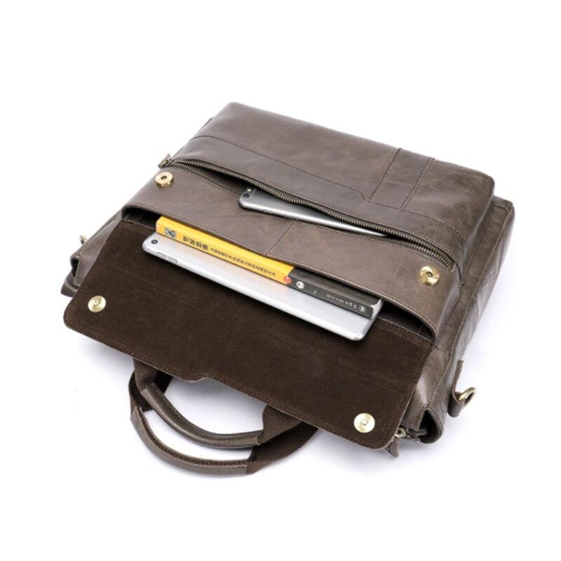 MAHEU sac de transport quotidien en cuir véritable 15