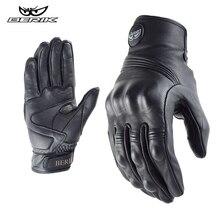 BERIK – gants de Moto en cuir pour hommes, gants de course de Moto, vélo, Motocross, été, 100%
