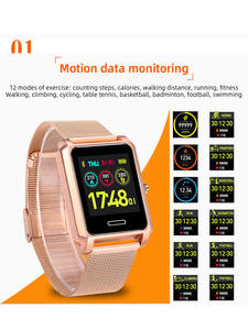 Monitoring Watches Call-Heart-Rate Swimming-Blood-Pressure Smart Unisex New Sport Steel-Belt