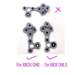 Image 4 - Szary silikonowy przewodzący gumowy przewodzący gumowy przycisk do kontrolera Xbox One S D Pad