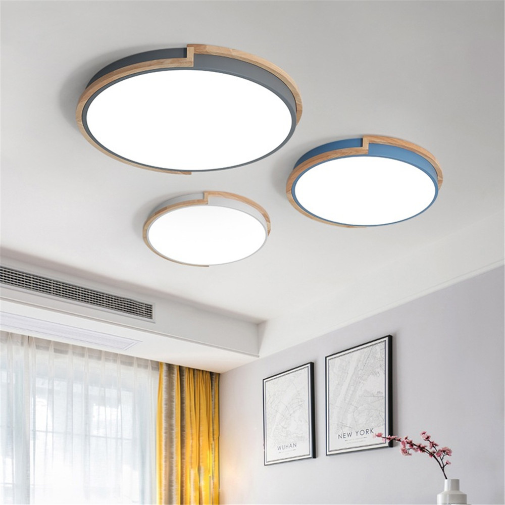 Ceiling Light Led Circular Lamp Iron