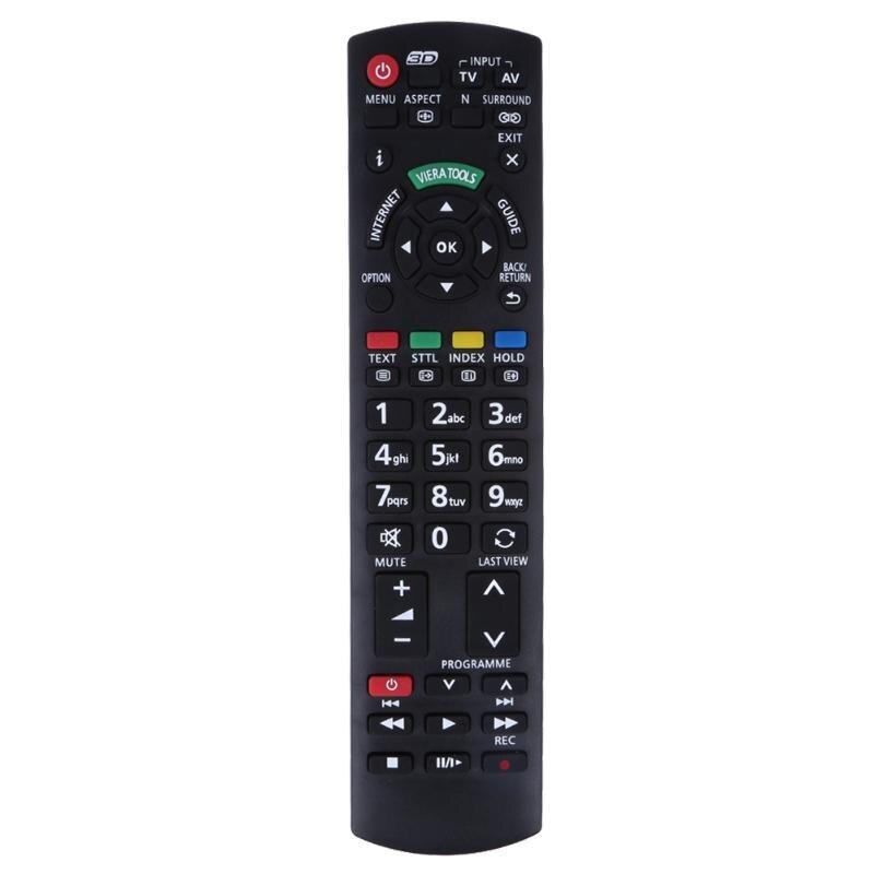 TV Remote Control for Panasonic TV N2QAYB000572 N2QAYB000487 EUR76280 N2QAYB000486 UR76EC2803 TNQE009 TNQ4G0403 HDTV
