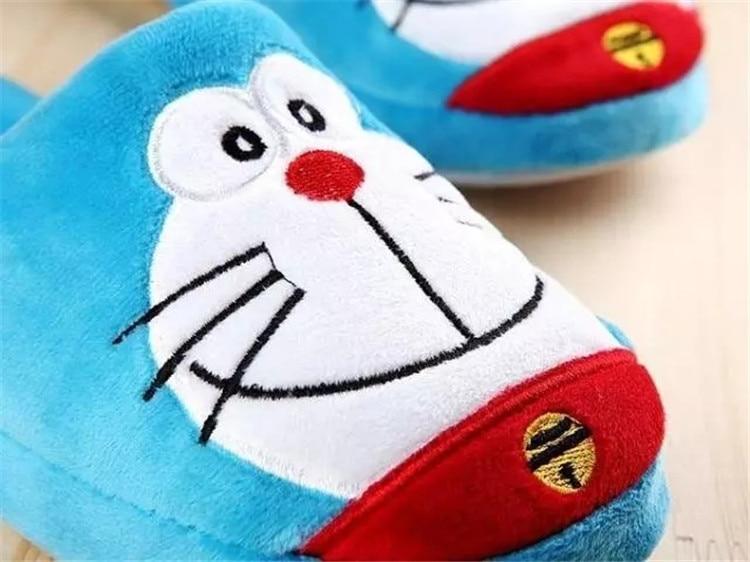 H6cfaf1e4b9dc4b939d7d7b247f060d7bB Anime japonês doraemon casa chinelos homem gordo azul anime sapatos doraemon cosplay unisex de volta para o futuro sapatos nobita nobi