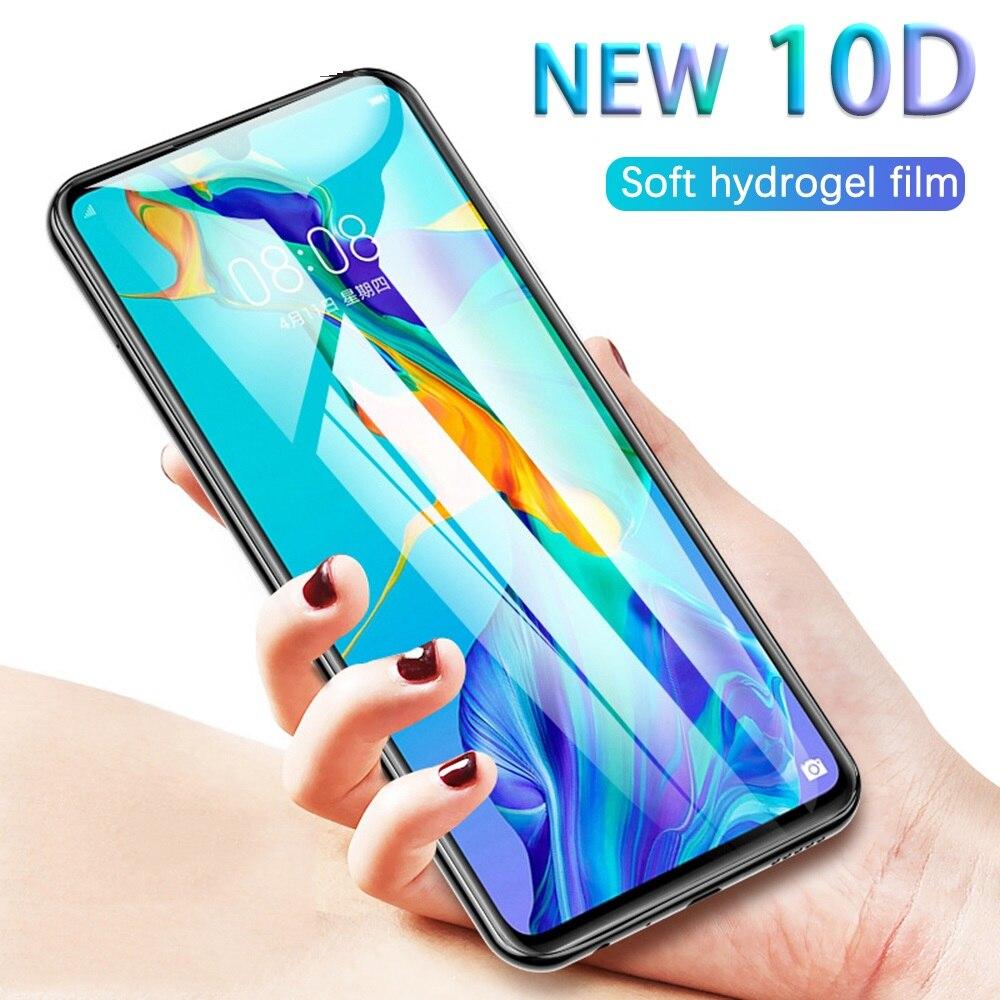 30d película protetora de hidrogel para nokia 5.3 7.2 7.1 6.1 5.1 3.1 7 plus 8.1 6 2018 etiqueta completa tpu protetor tela 5.3 não vidro