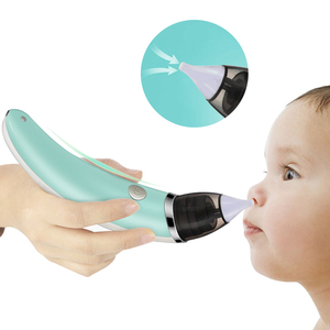 Kid Baby Nasal Aspirator Electric Nose Cleaner Newborn Baby care Sucker Cleaner Sniffling Equipment Safe Hygienic Nose Aspirator(China)