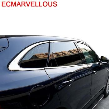 Window Trunk Rear Panels Outlet Air Conditioner Automobile Chromium Decorative Car Styling Modification 18 19 FOR Jaguar F-PACE