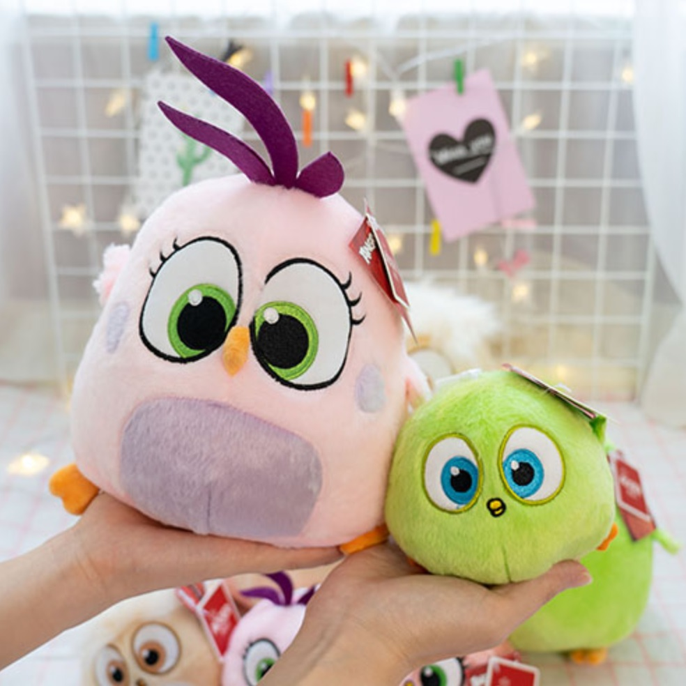 Image 3 - New style Movie birds fledgling Samantha Zoe Vincent Arianna Will cute Stuffed toys Plush Claw machine doll for Children gifts-in Stuffed & Plush Animals from Toys & Hobbies