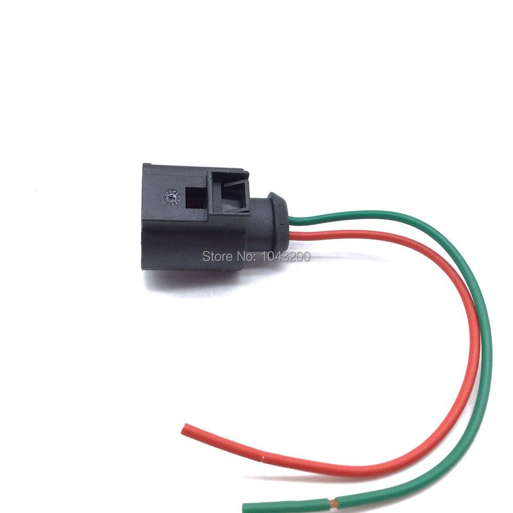 2 контакта, генератор, свиной хвост, штекер жгута для AUDI VW SKODA MERCEDES BMW, Разъем Bosch VAG, OE #4d09792/4d097199 2A|Расходомер воздуха|   | АлиЭкспресс